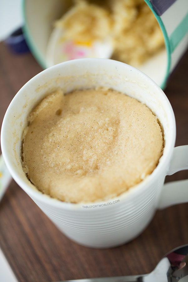 Vanilla Mug Cake Without Baking Powder : vanilla, without, baking, powder, Moistest, Vanilla, Single-Serving, Recipe