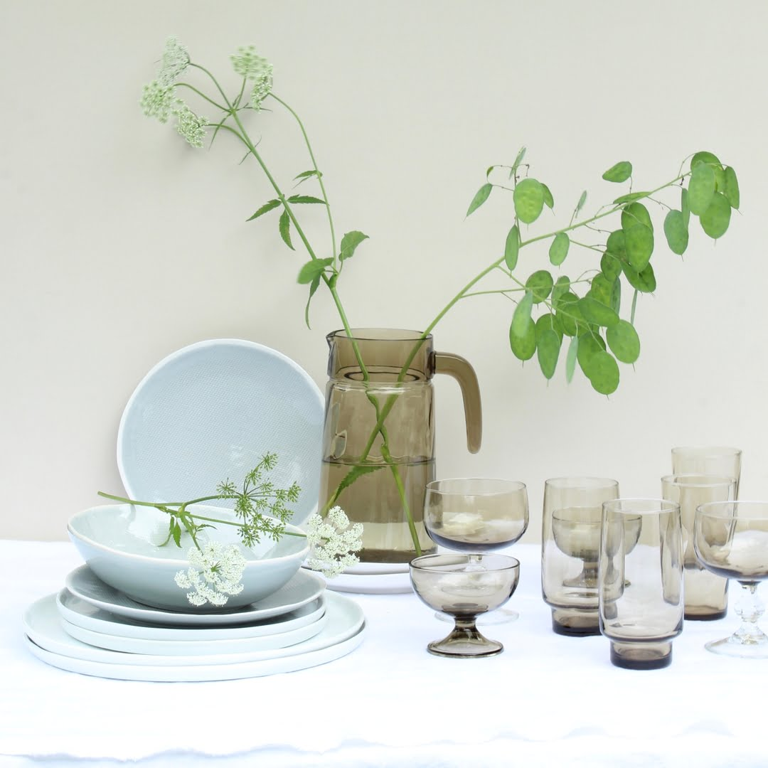 zomertafel met rookglas