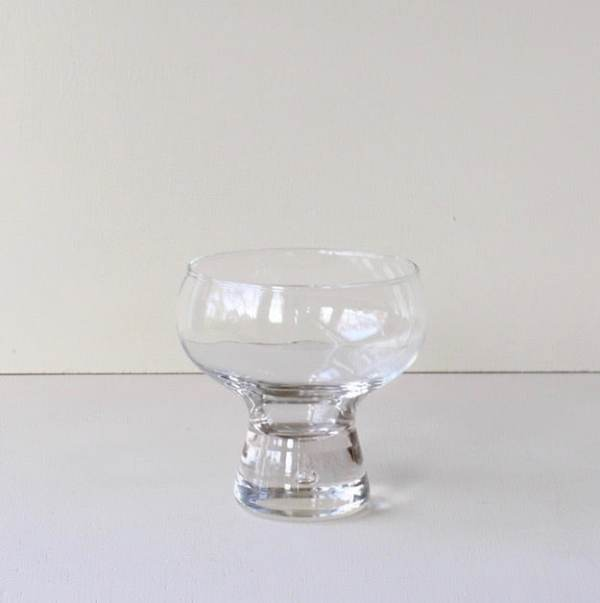 vintage glas jaren zeventig met glasbel