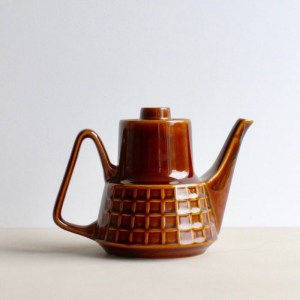 Pruszkow theepot bruin