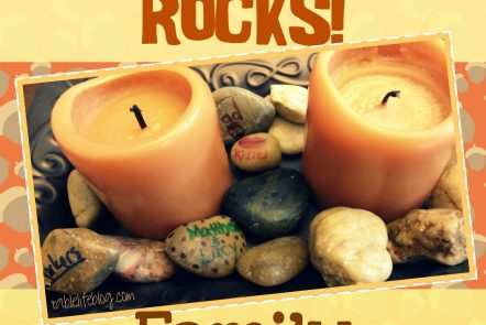 Thankfulness Rocks Family Thanksgiving Activity