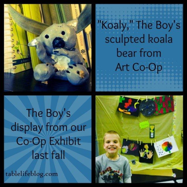 Adventures in Art - Art through Homeschool Co-op