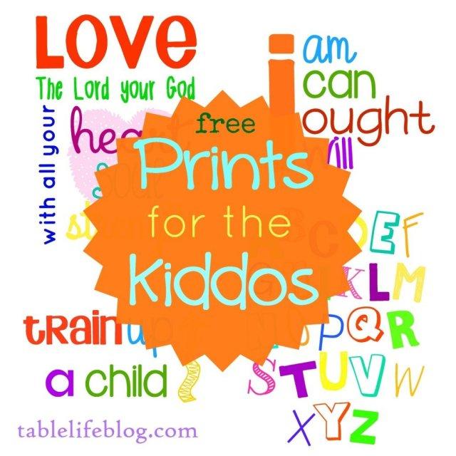 Free Printable Homeschool Decor