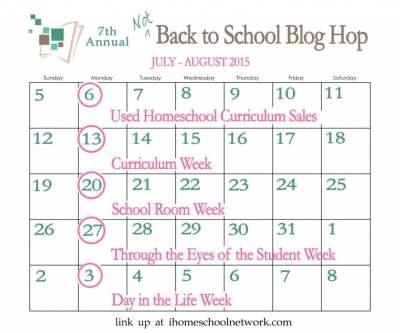 iHomeschool Network 7th Annual Not Back to School Blog Hop