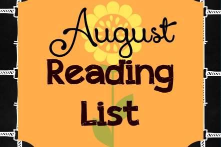 August Reading List