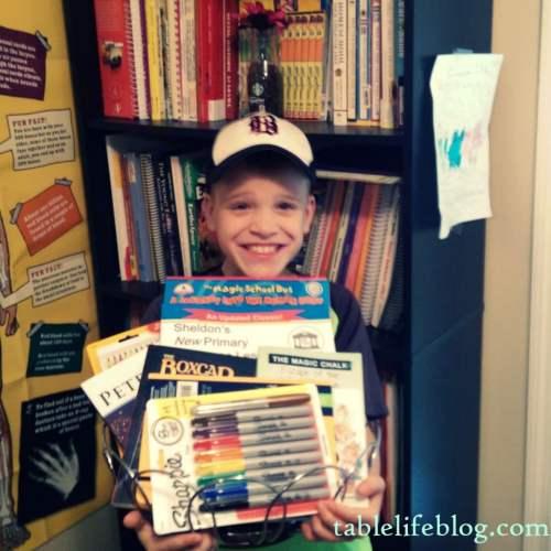 Back to Homeschool Kid's Choice Giveaway Basket
