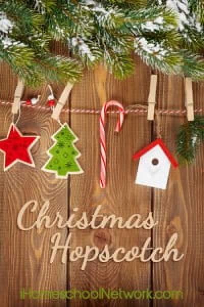 Christmas Gifts Kids Can Make - iHomeschool Network - Christmas Hopscotch