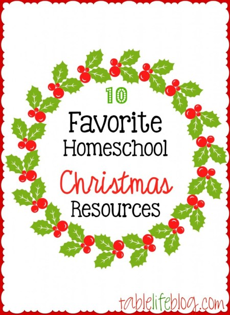 Favorite Homeschool Christmas Resources