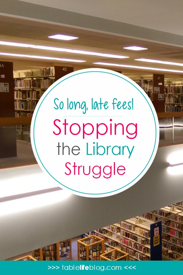 So Long, Late Fees - Stopping the Library Struggle