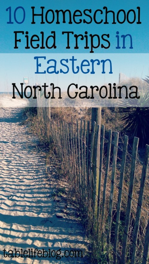 10 Homeschool Field Trips in Eastern North Carolina