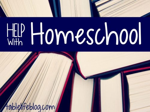 Help with Homeschool Landing Page