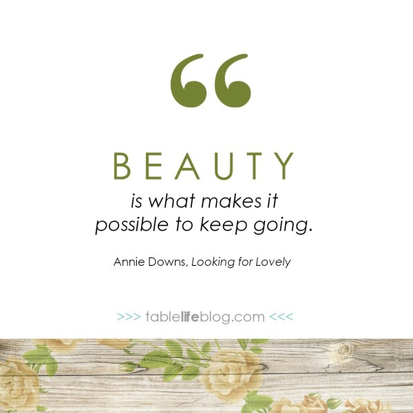3 Reasons You Should be Looking for Lovely