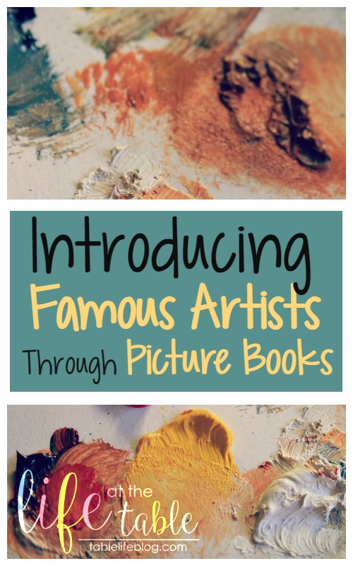 Introducing Famous Artists Through Picture Books