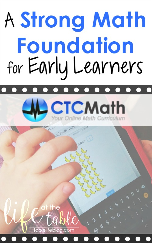 CTC Math - A Strong Math Foundation for Early Learners