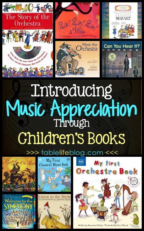 Introducing Music Appreciation Through Children's Books