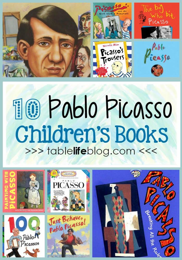 10 Pablo Picasso Books for Children