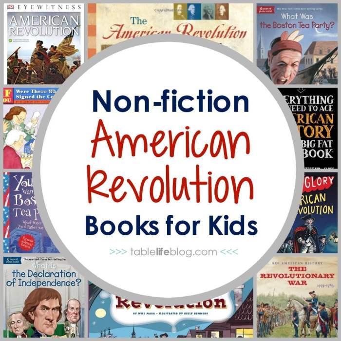 100 Ways to Study the American Revolution - Non fiction American Revolution Books for Kids