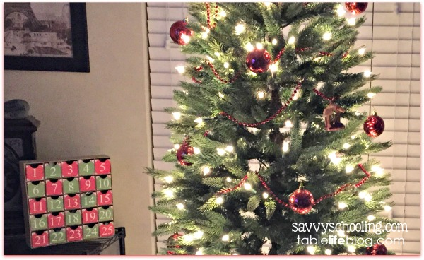 Celebrate the Christmas season by making your own Advent calendar