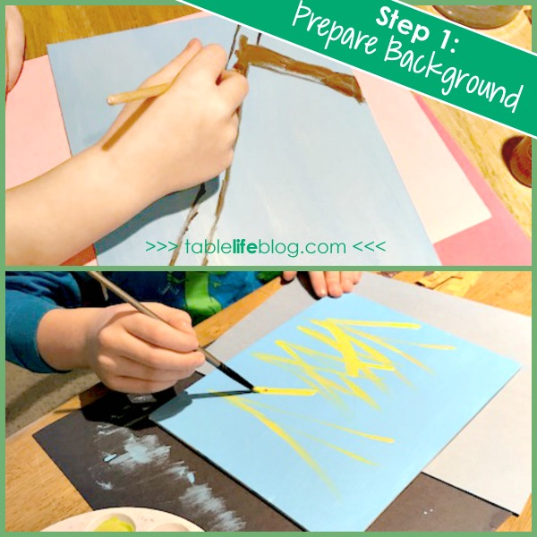 Mixed Media Bird Nest Art for Kids - Inspired by a Nest is Noisy