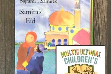 The cover of Samira's Eid by Nasreen Aktar and Enebor Attard for Multicultural Children's Book Day 2018