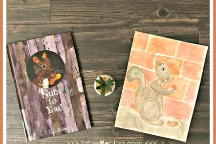 Nuts to You! Watercolor Squirrel Art Project