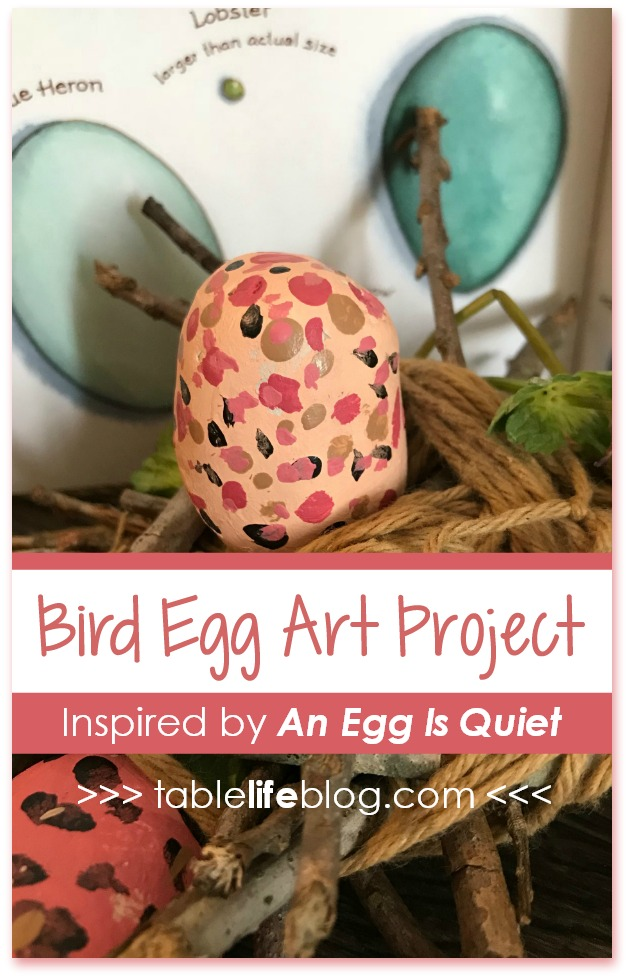 Bird Egg Craft Project Inspired by An Egg is Quiet