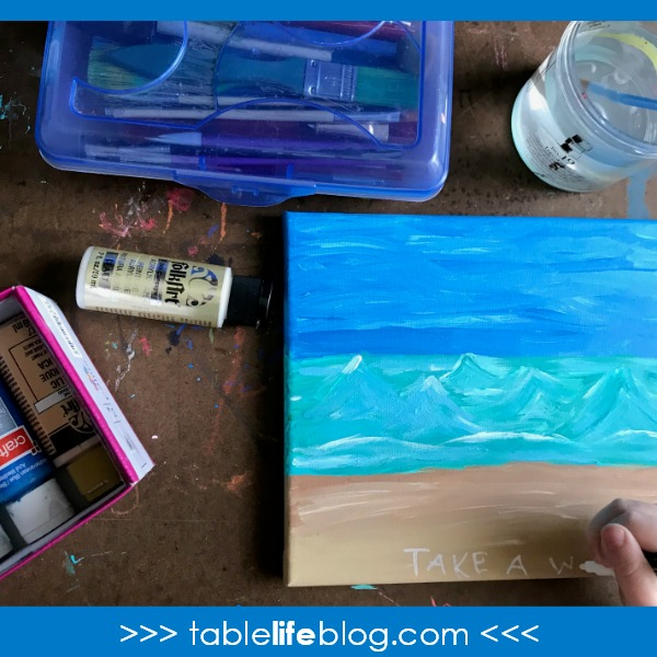 Cute and Easy Ocean Art for Kids