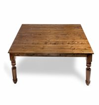 Wooden Table-Square - Table Manners