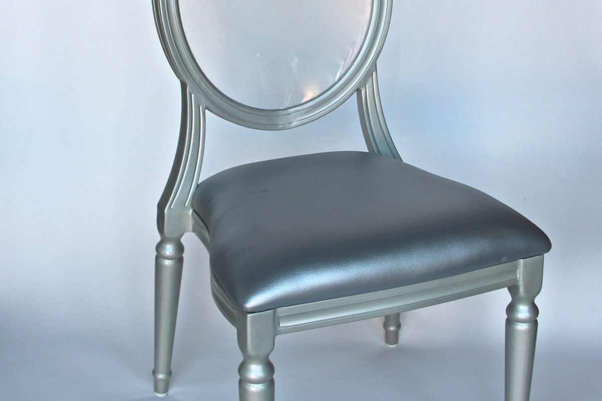 chair cover rentals dc blue dining covers louis 15 silver with clear back table manners