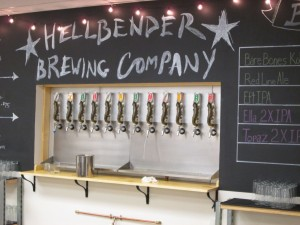 Hellbender Brewing Company taps