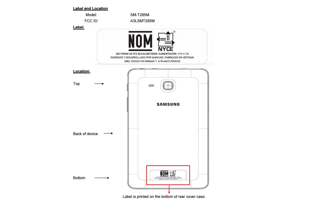Samsung Galaxy Tab E 7.0 Gets Certified by the FCC, in LTE