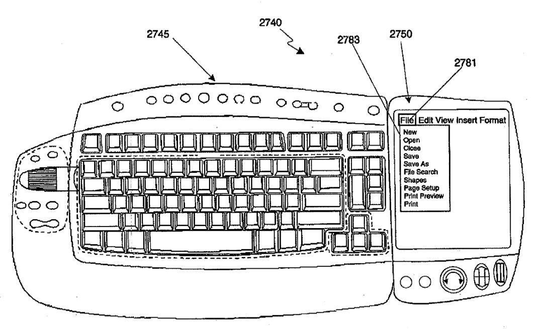 Microsoft Applies for Patent Related to Keyboard With