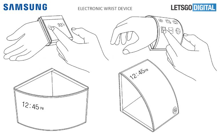 Samsung Patents Retractable Foldable Smartphone, Also