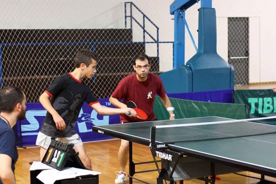 Η Ακαδημία Επιτραπέζιας Αντισφαίρισης Κορδούτης-Ζέρδιλα, διοργάνωσε τουρνουά πινγκ πονγκ μεταξύ οικογενειών.
