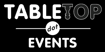 Pleases support Con of Champions. Tabletop.Events logo