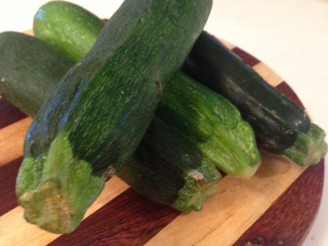 Four medium humble zucchini
