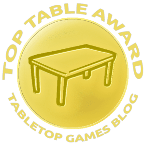 Tabletop Games Blog - Top Table Award