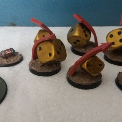 Blood Bowl Re-Roll Counters (5)