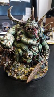 Easily the most impressive feature. This converted Glottkin turned Great Unclean One was astounding!