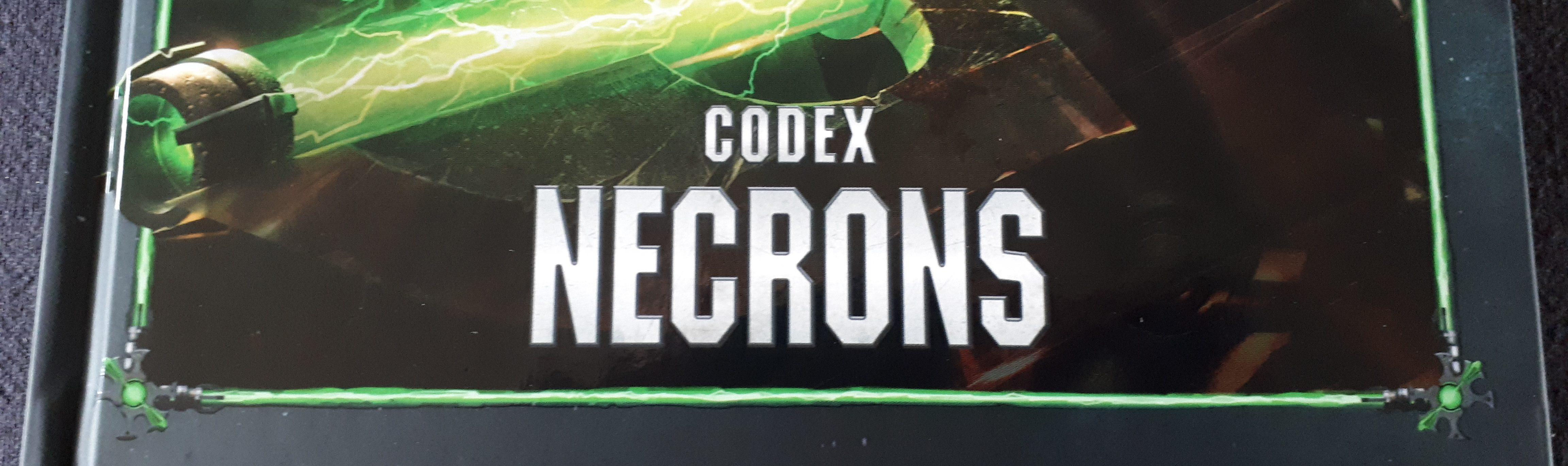 Warhammer 40K Codex: Necrons Review - The Slumbering Legions