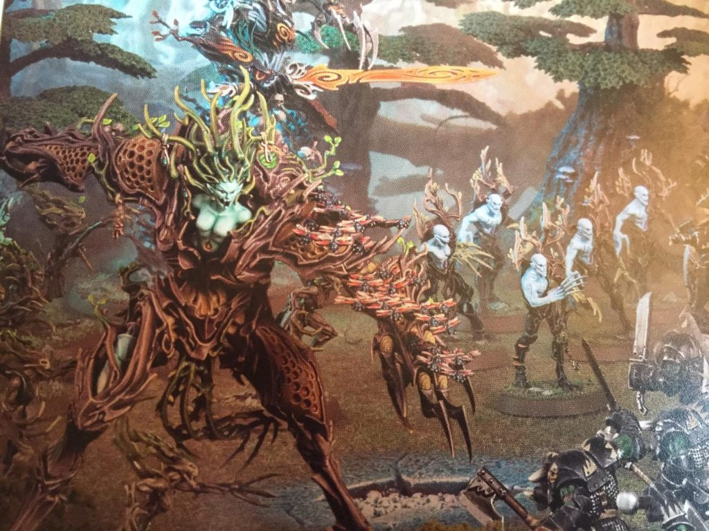A model showcase from the Sylvaneth Battletome