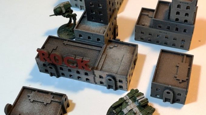 painted examples of iliada game studios 6mm mediterranean laser-cut card buildings