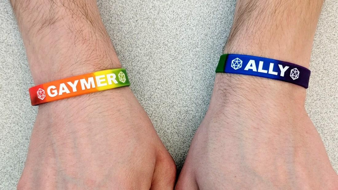 GAYMER ALLY Wristbands