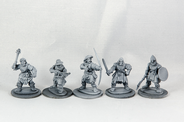 Frostgrave Soldiers 28mm Tabletop