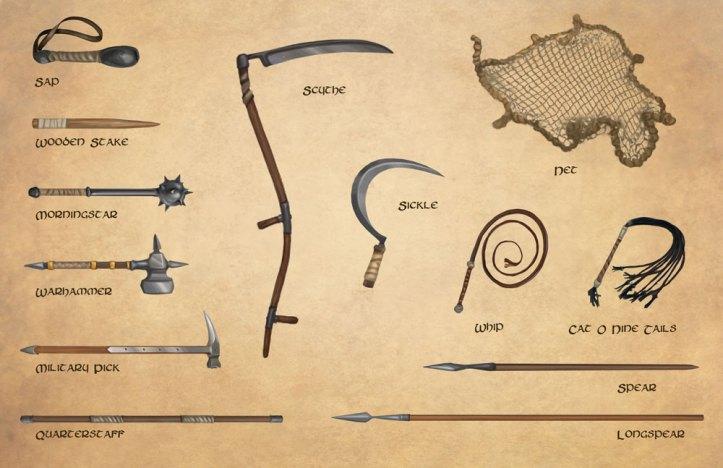 Fantasy RPG Weapons
