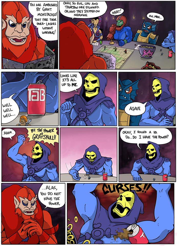 Skeletor Plays Dungeons and Dragons