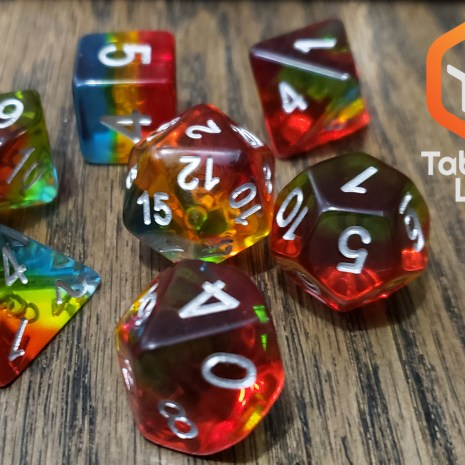 Tabletop Loot _ Sunset Dusk-dice-set-dice-dnd-dice-dd-dice-tabletop-dice-dungeons-and-dragons