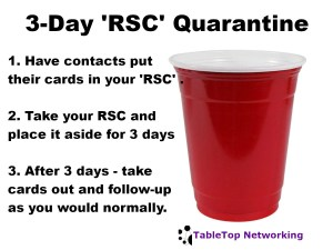 Red Solo Cup 3-Day Quarantine