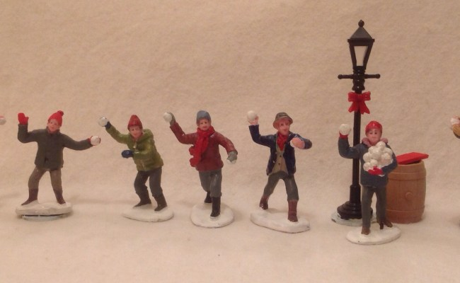 Good Grief More Snow Forts Snowball Fight Figures For