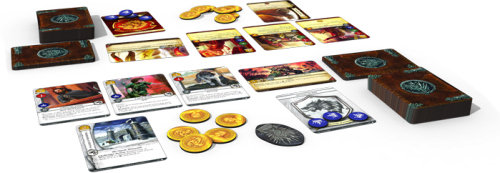 A Game of Thrones - Components